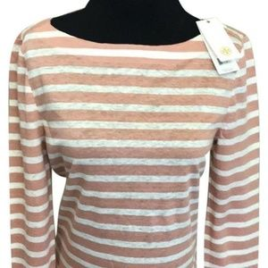 Tory Burch Nectar Sailor Stripe C Light T-Shirt